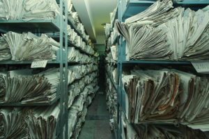 stockpile of papers