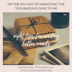 8th Day of Marketing