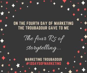 Fourth Day of Marketing