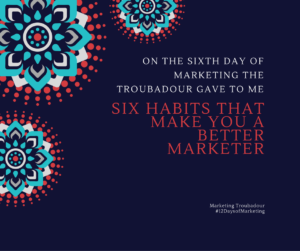 Sixth Day of Marketing (2)